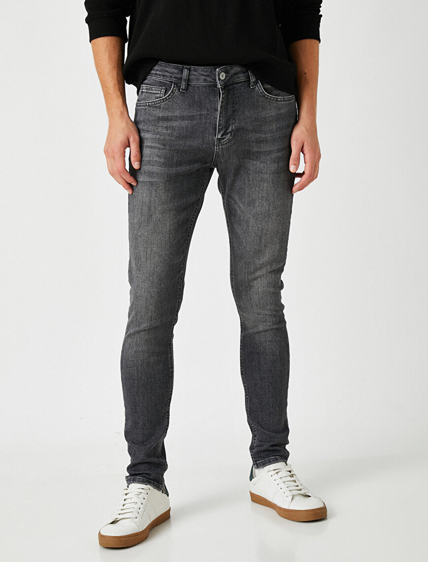 Justın Super Skinny Fit Jean Pantolon