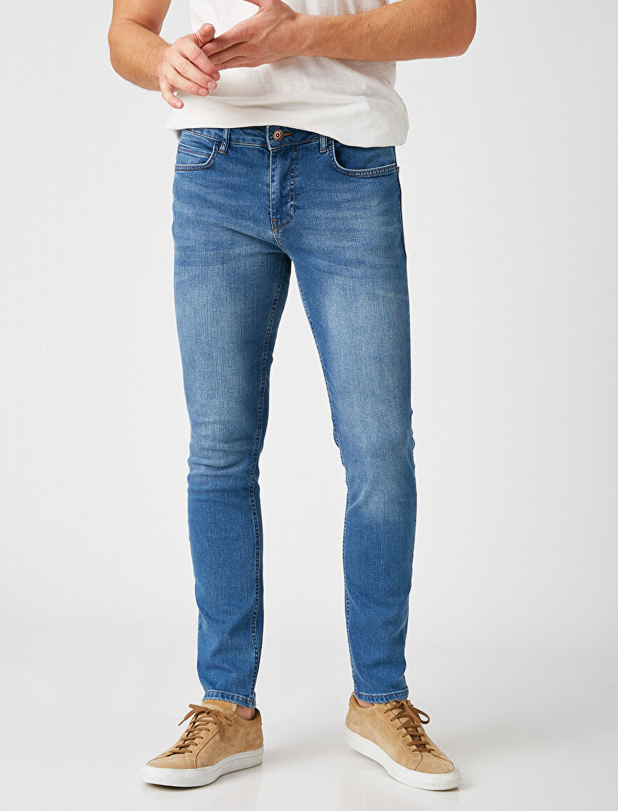 Respect Life | Yaşama Saygı - Micheal Skinny Fit Ultra Stretch Jean Pantolon