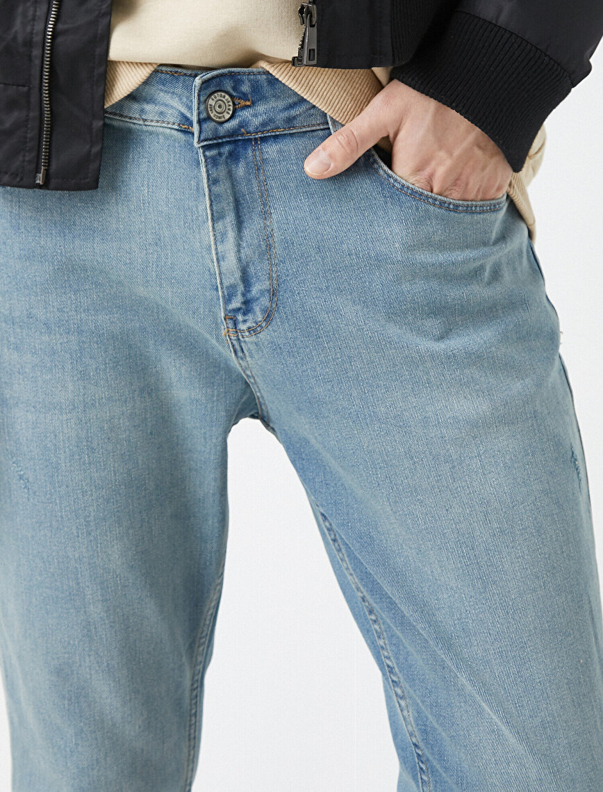 Joe Tapered Fit Jean Pantolon