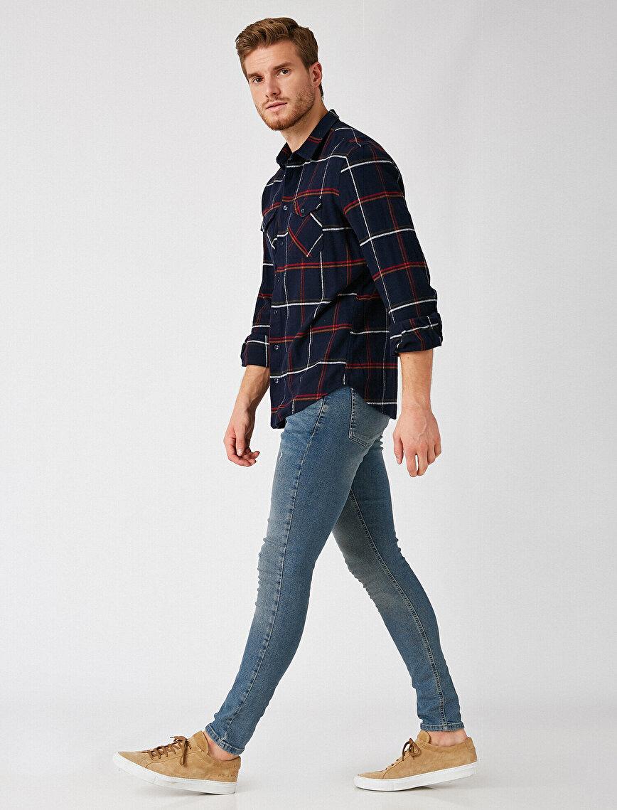 Respect Life | Yaşama Saygı - Organik Pamuklu Justin Super Skinny Jean Pantolon