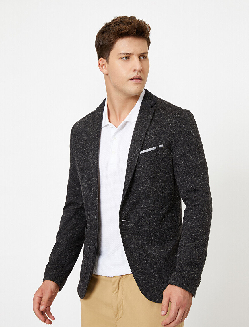 Pocket Detailed Blazer