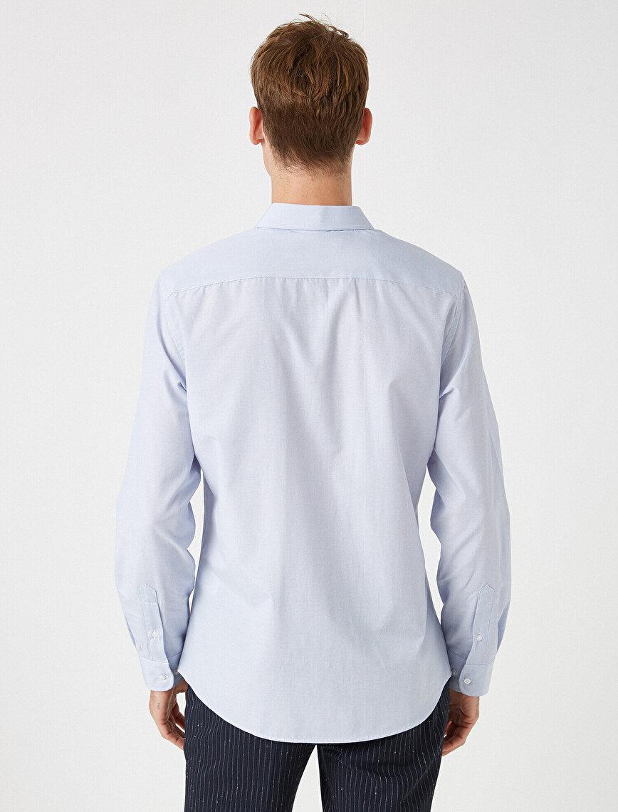 Klasik Yaka Uzun Kollu Gömlek