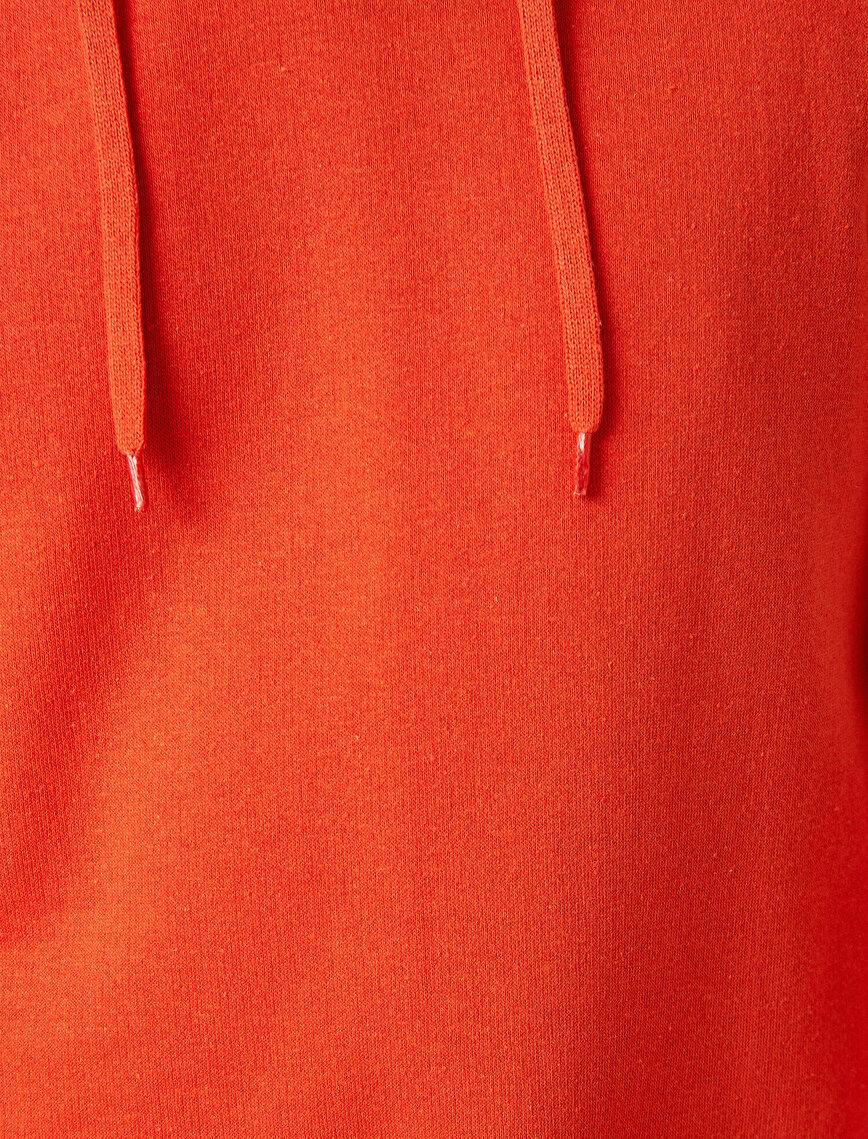 Respect Life | Yaşama Saygı - Basic Kapüşonlu Uzun Kollu Sweatshirt