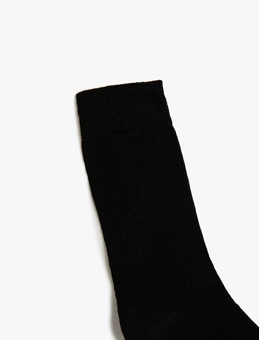 Man 5 Pieces Basic Socks Set