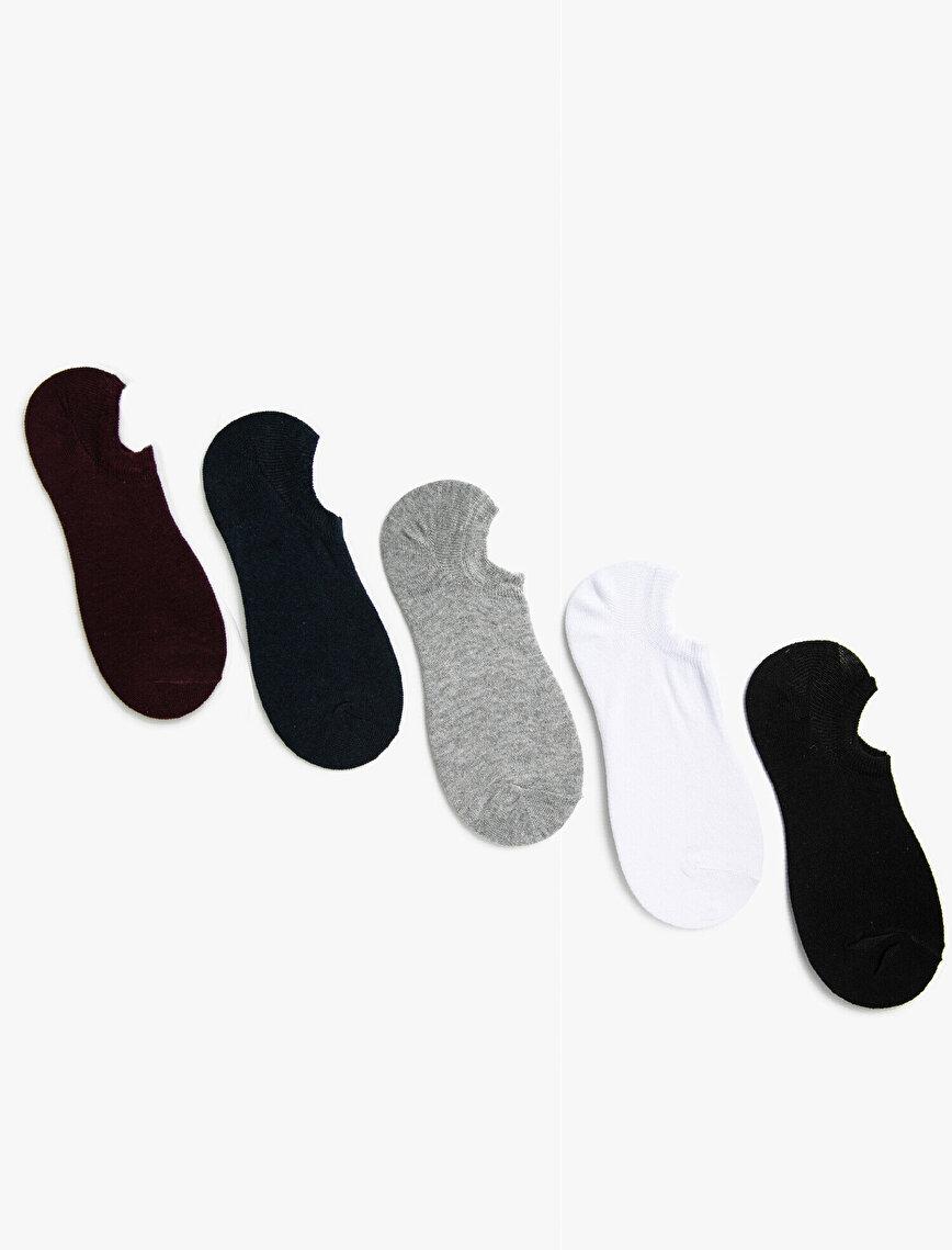 Man Basic 3 Pieces Invisible Socks Set