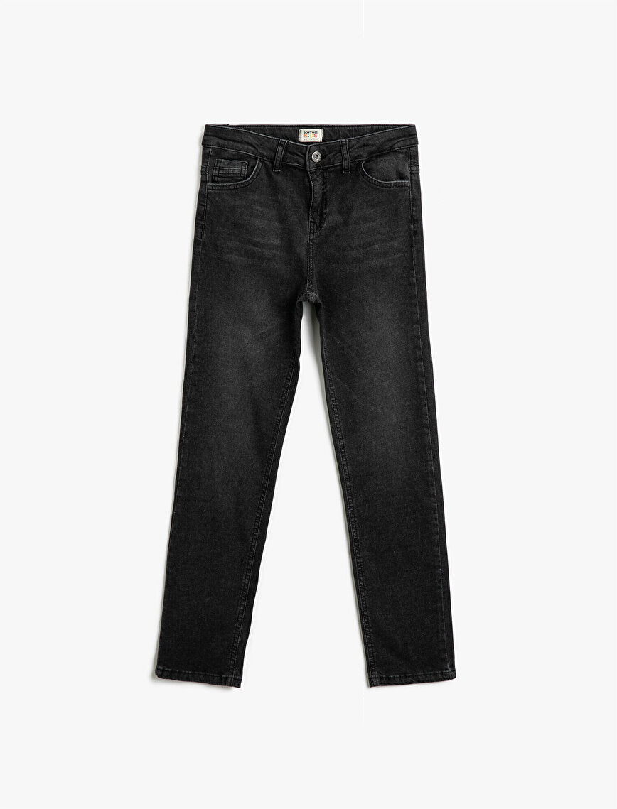 Pamuklu Comfort Strech Slim Fit Jean Pantolon