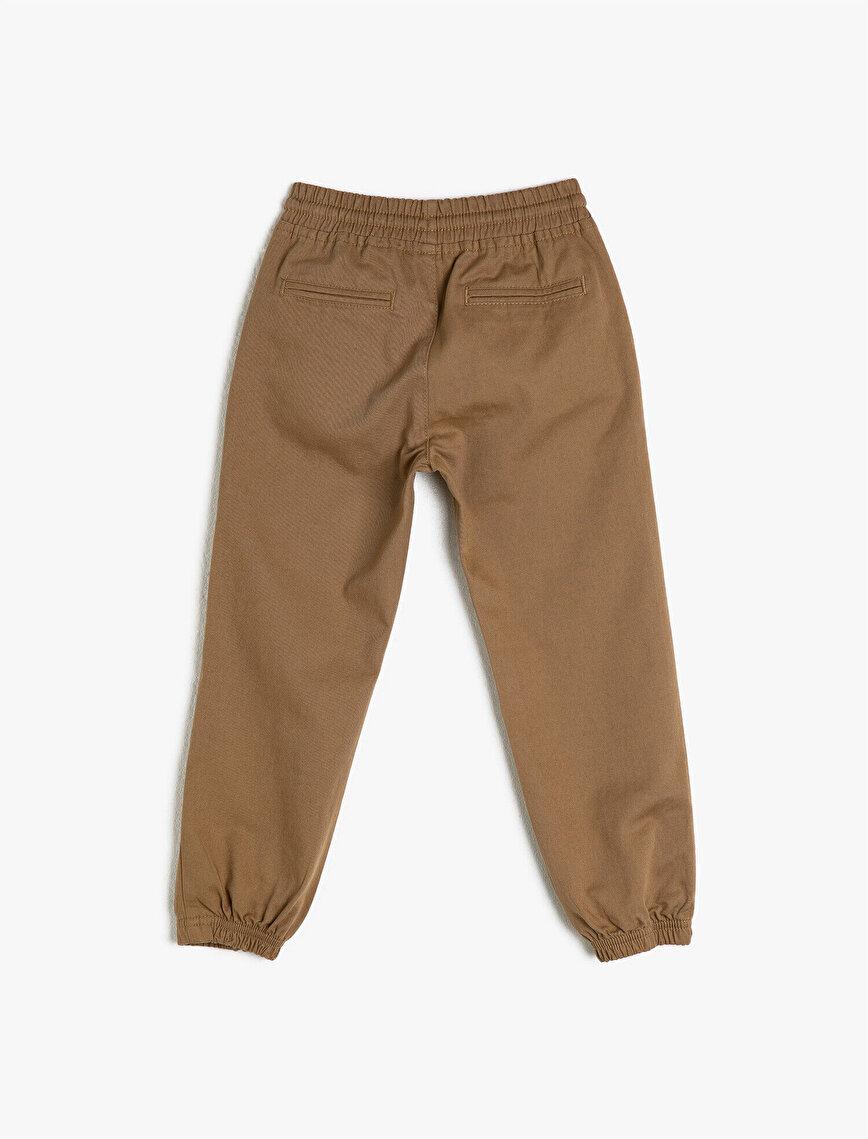 %100 Pamuk Jogger Pantolon