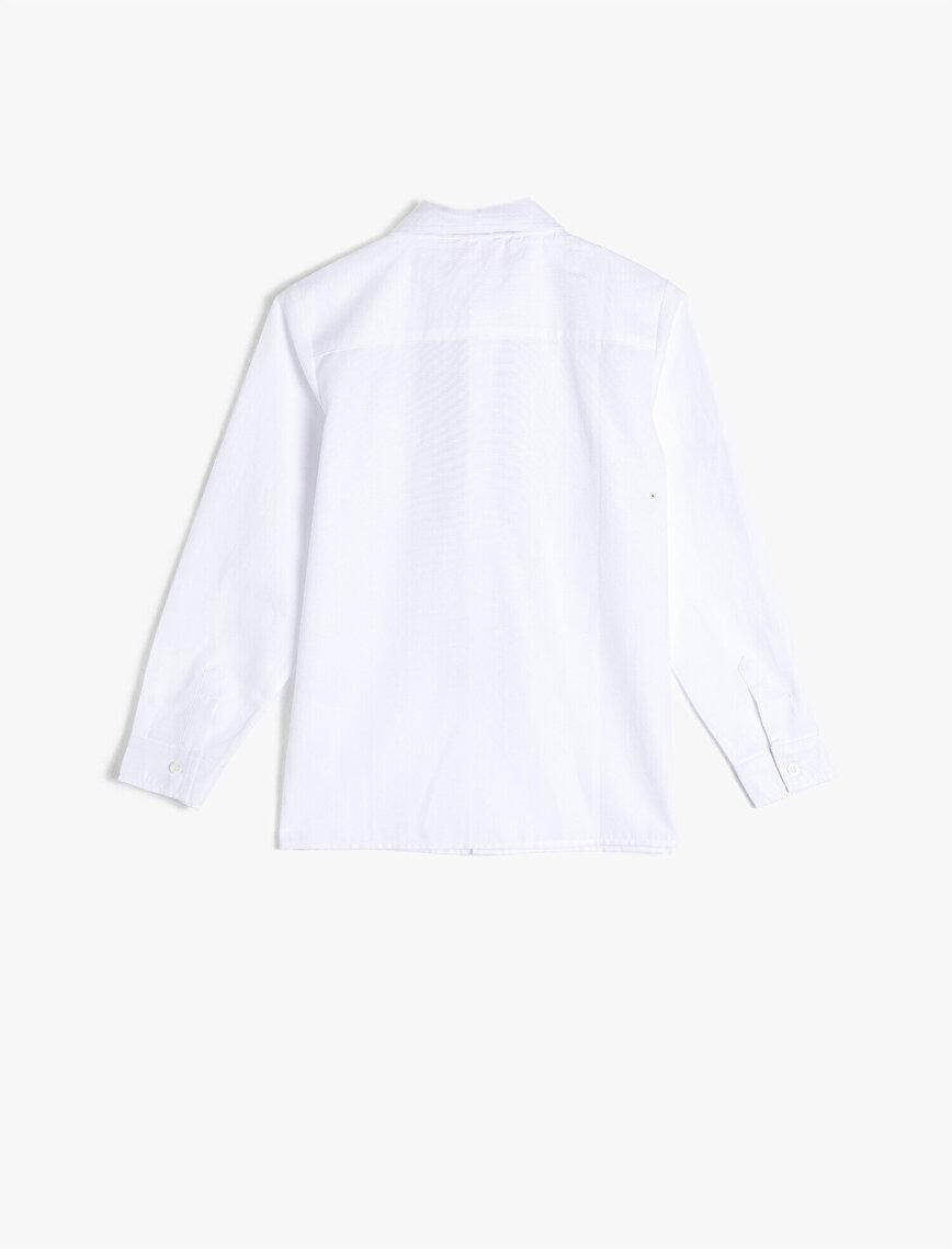 Klasik Yaka Erkek Çocuk Gömlek