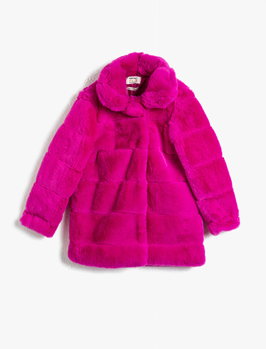 Plush Stand Neck Coat