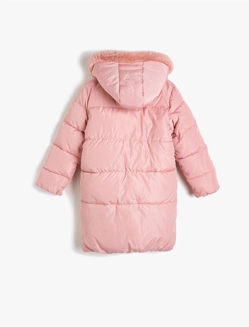 Faux Fur Detailed Hooded Anorak