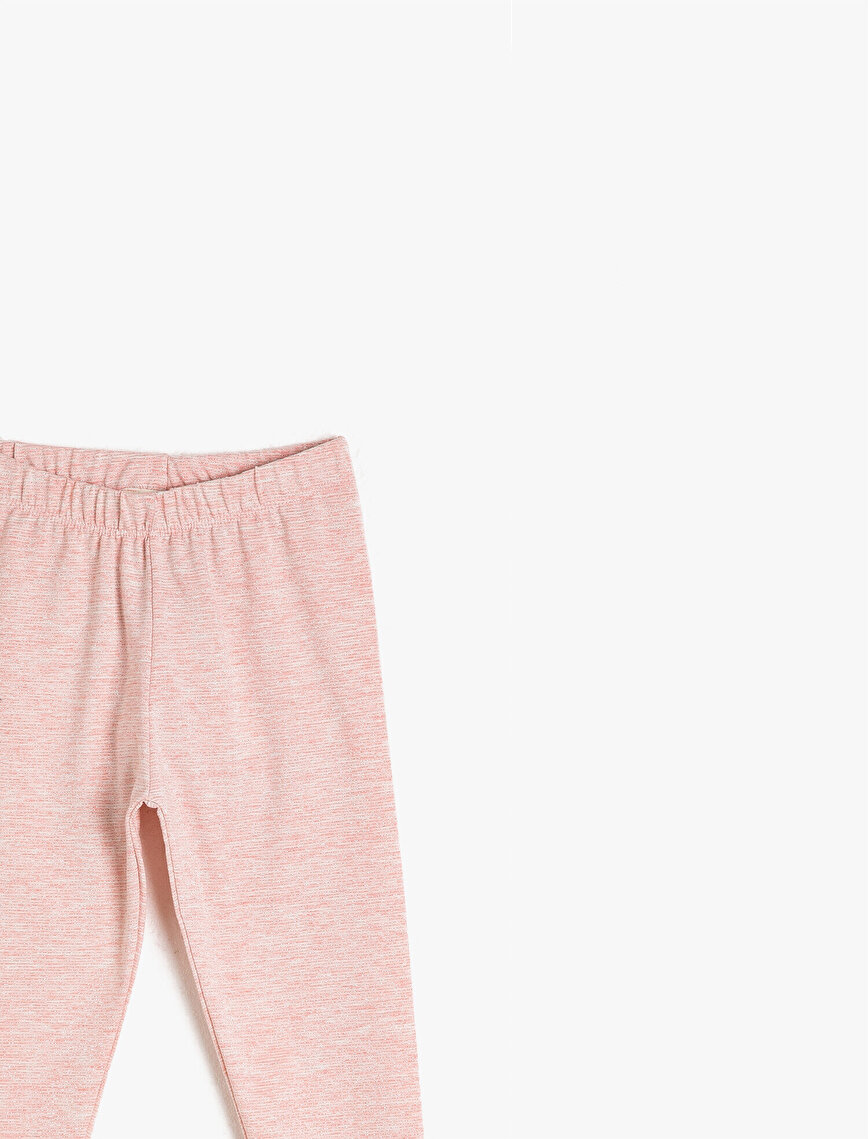 Medium Rise Basic Leggings