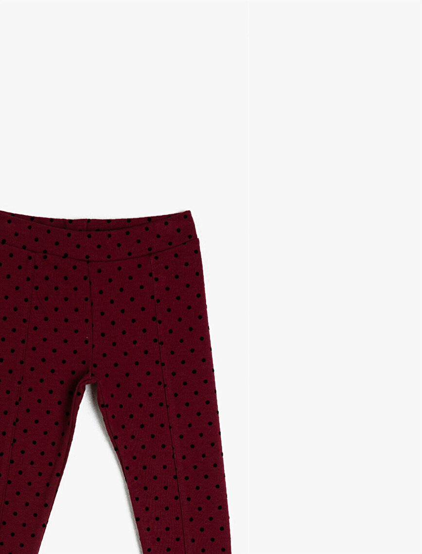 Polka Dotted Leggings