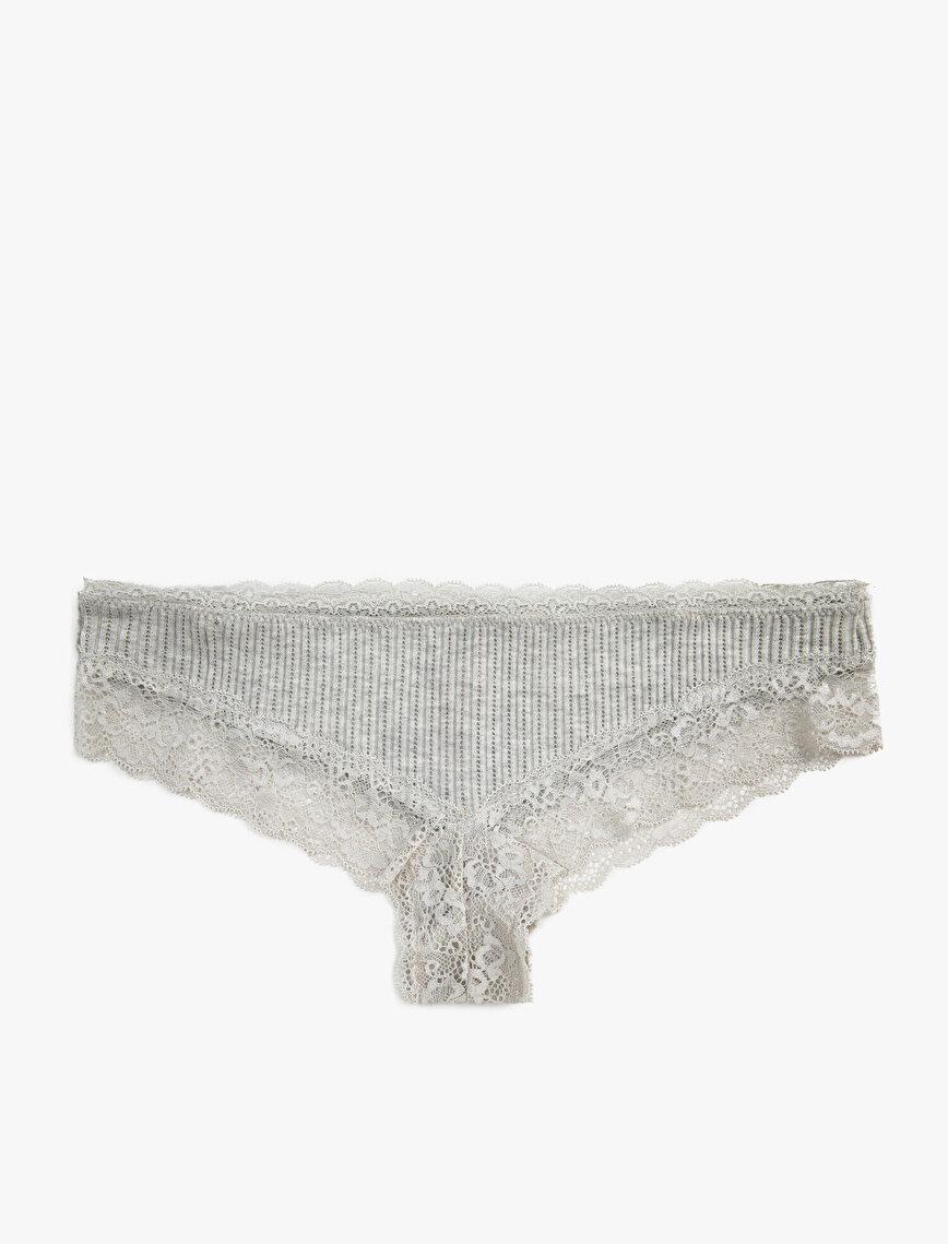 Respect Life   Yaşama Saygı - Lace Brasilian Panty