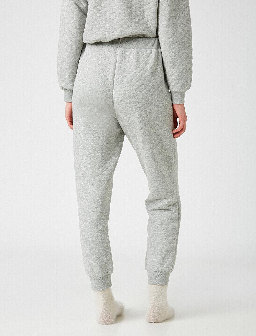 Kapitoneli Pijama Altı