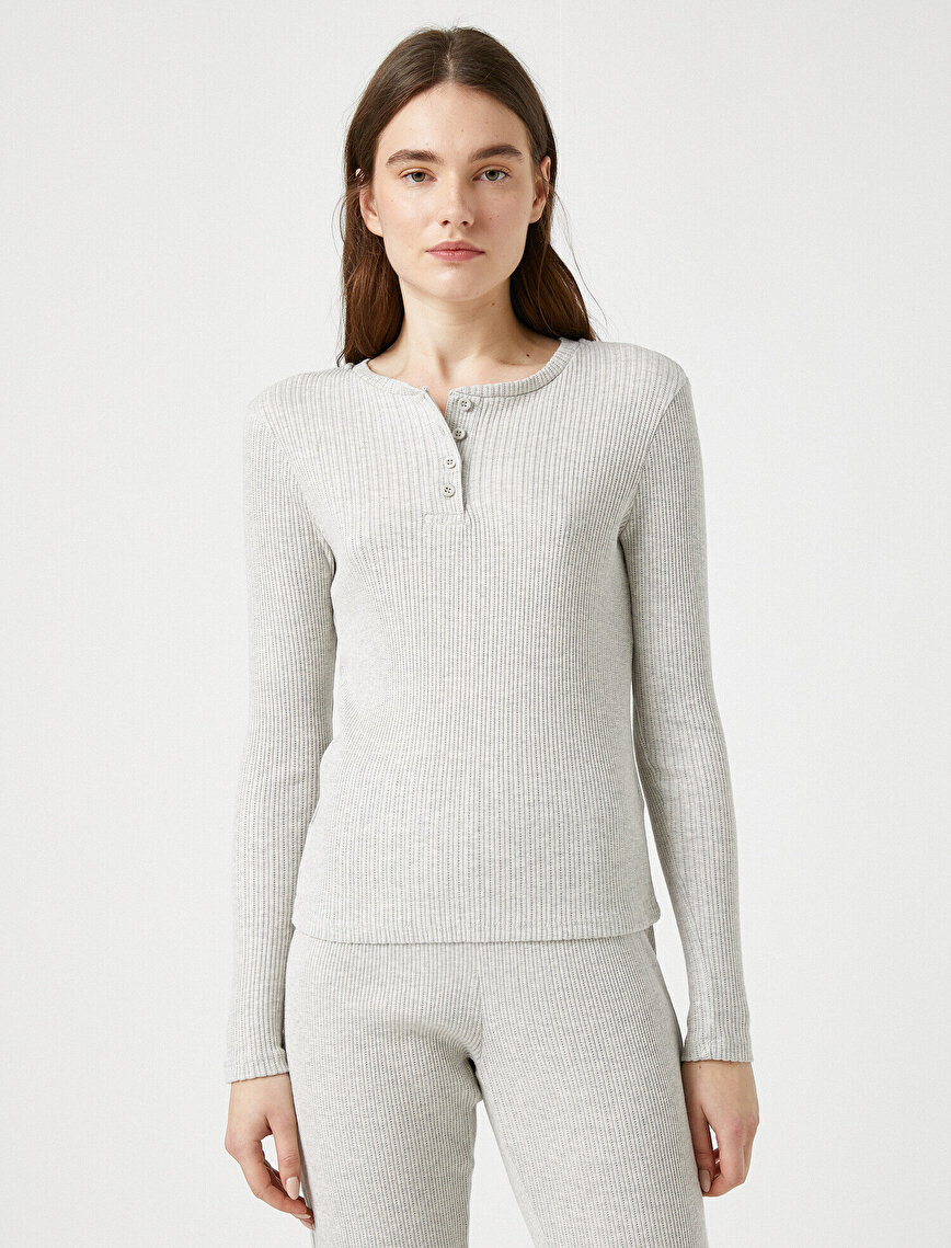 Respect Life | Yaşama Saygı - Organic Cotton Long Sleeve Pyjamas Top