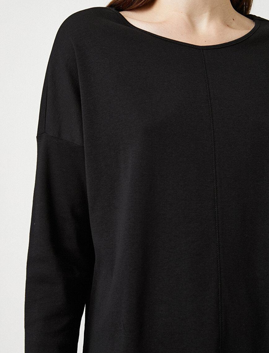 Respect Life | Yaşama Saygı - 100% Organic Cotton Crew Neck Long Sleeve Pyjama Top
