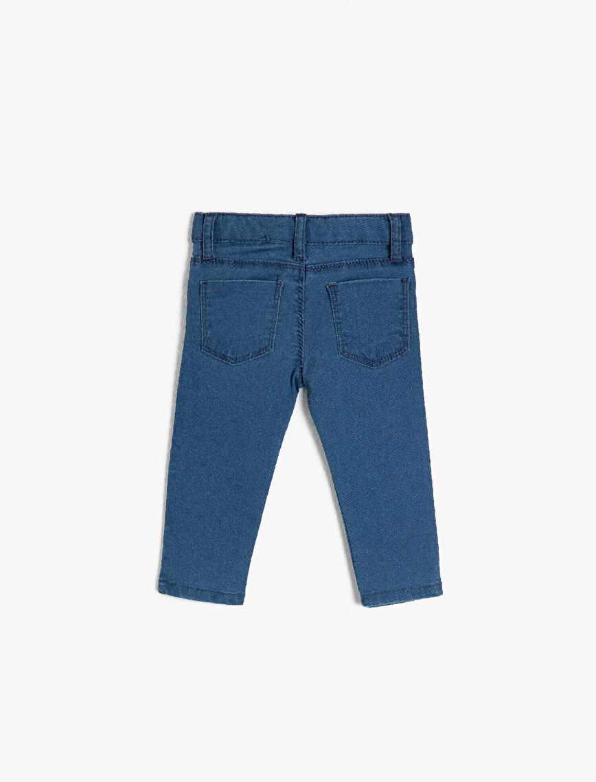 Normal Bel Cepli Pantolon