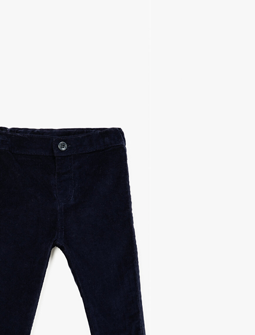 Cotton Basic Trousers