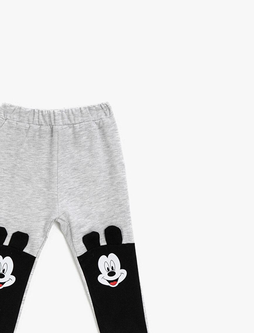 Mickey Mouse Lisanslı Baskılı Eşofman Altı
