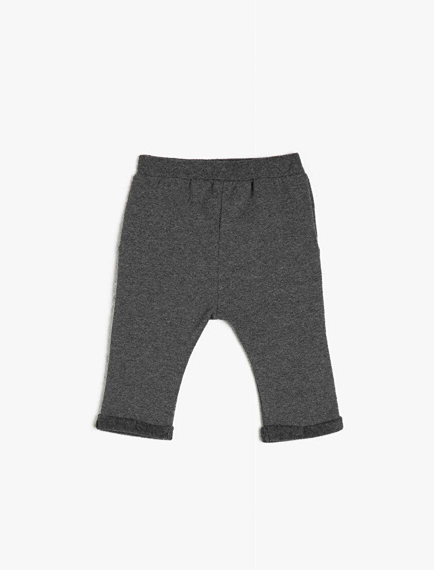 Printed Pocket Jogging Pants