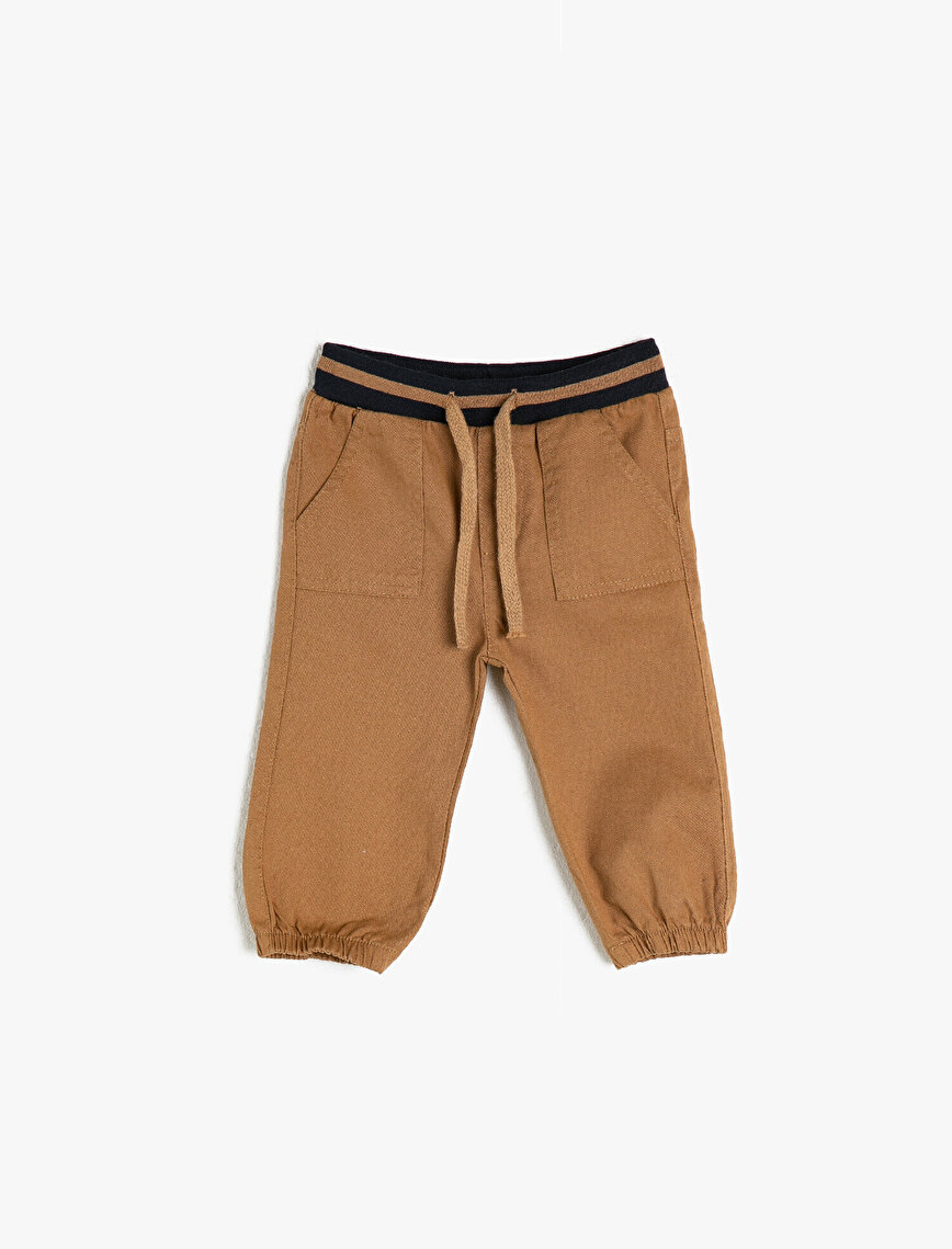 100% Cotton Pocket Trousers