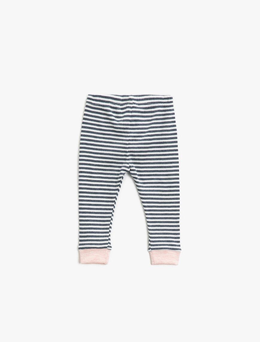 Striped Medium Rise Leggings