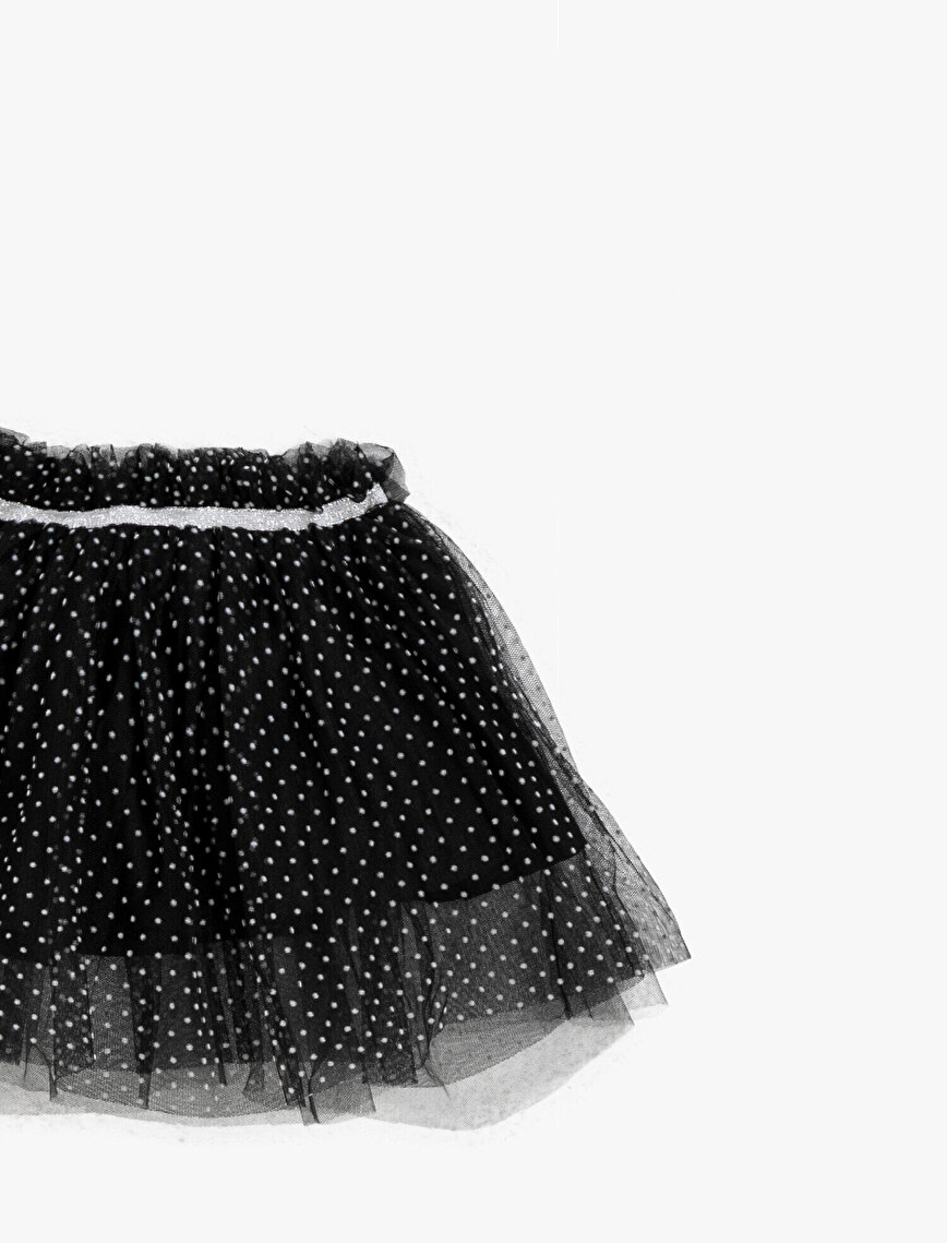 Dotted Glitter Tutu Skirt
