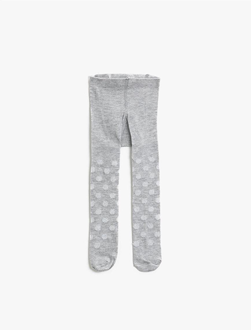 Kız Bebek Desenli Külotlu Çorap