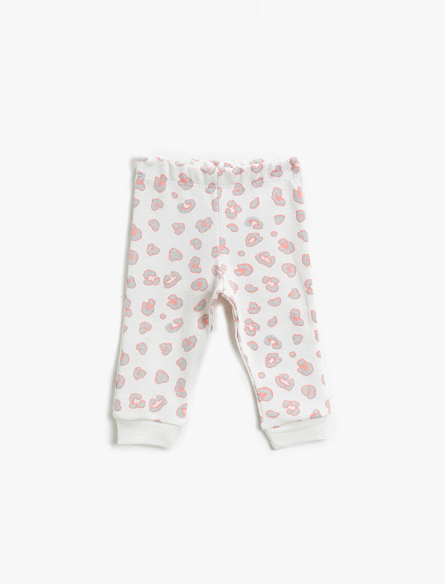 Cotton Patterned Jogging Pants