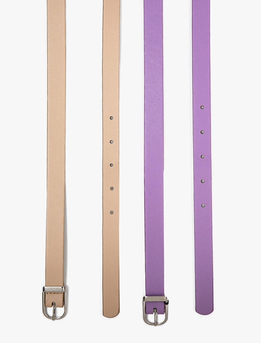2 Pieces Belt
