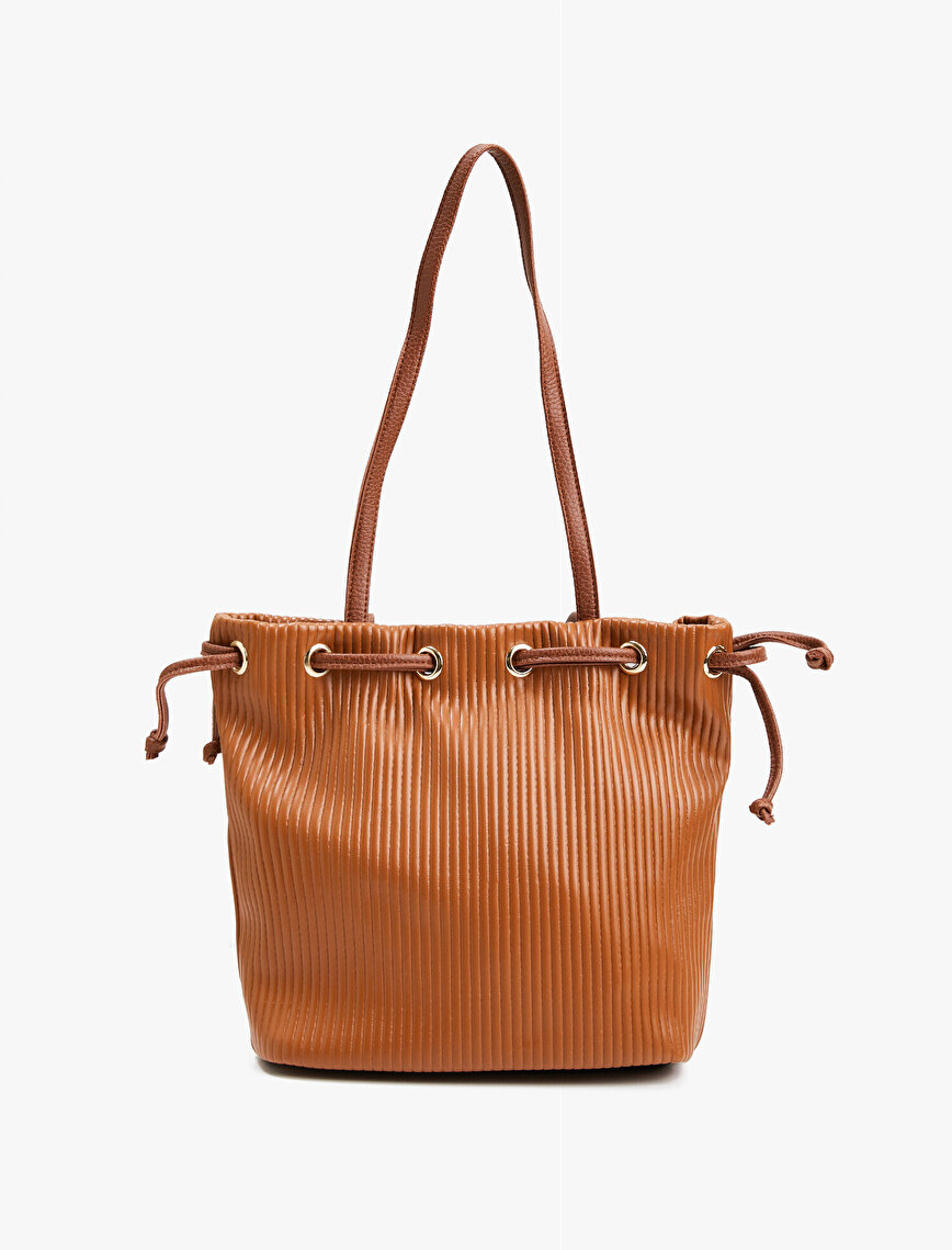 Leather Bag Drawstring