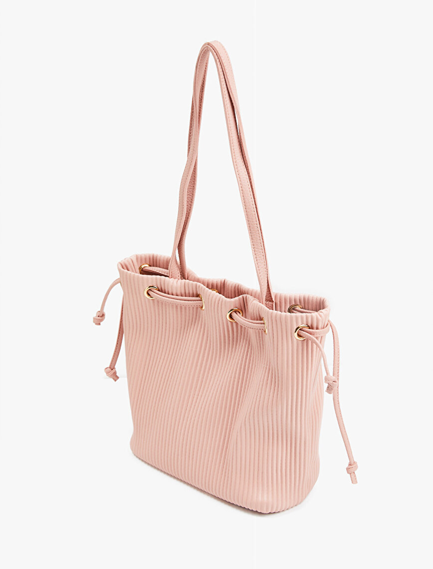 Leather Bag Drawstring