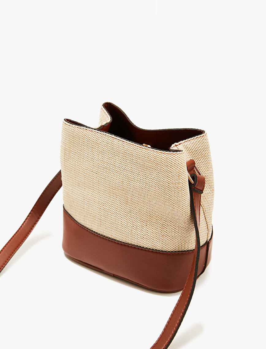 Leather Detailed Bag