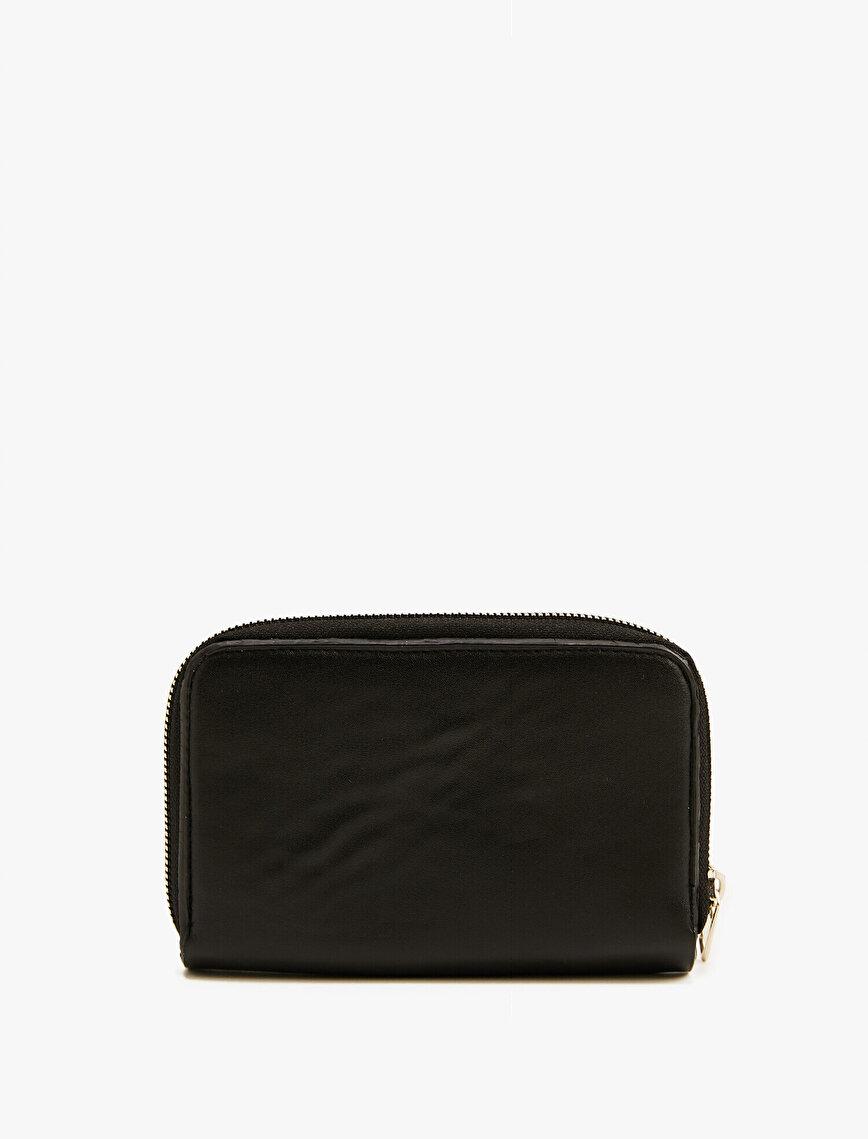 Leather Wallet Pocket Detailed