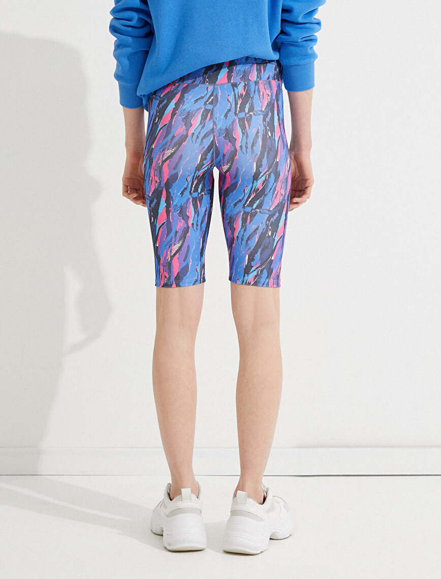 Printed Biker Leggings