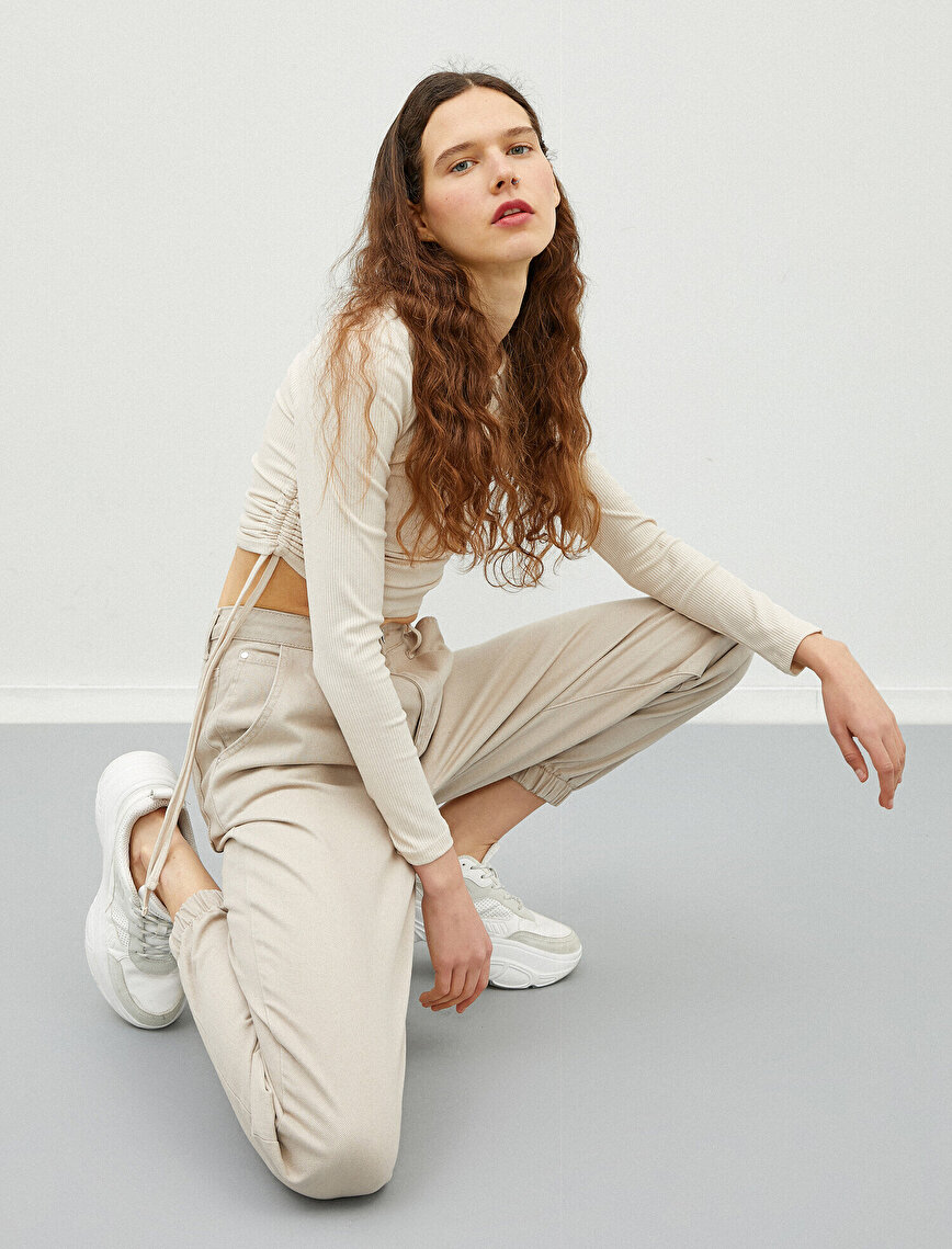 Jogger Trousers Cotton