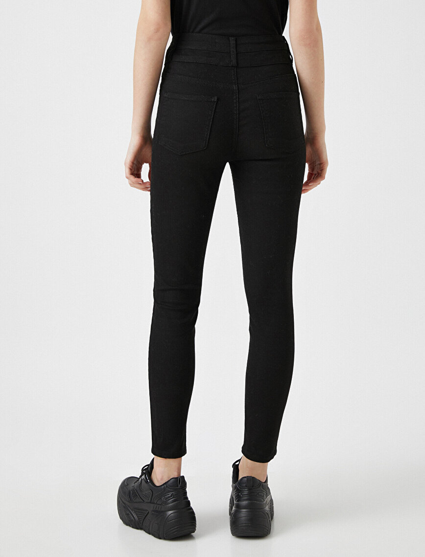 Carmen Skinny Jean - Yüksek Bel Dar Kesim Dar Paça Pantolon