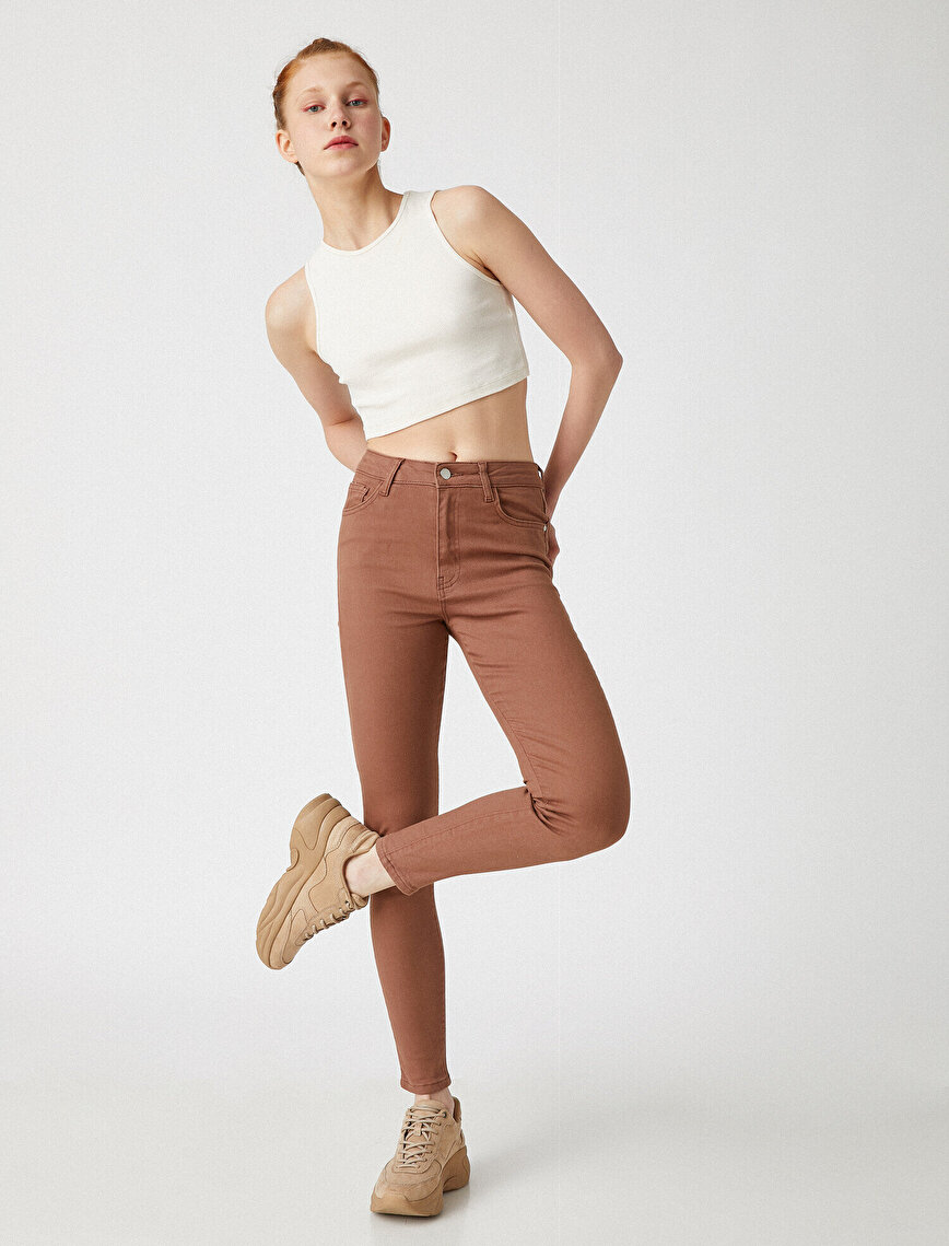 High Waist Carmen Jeans