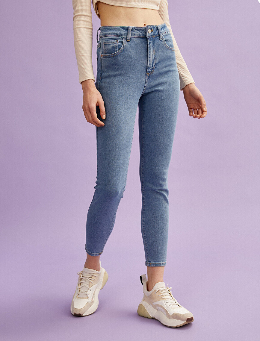 Carmen Jeans High Waist Cotton