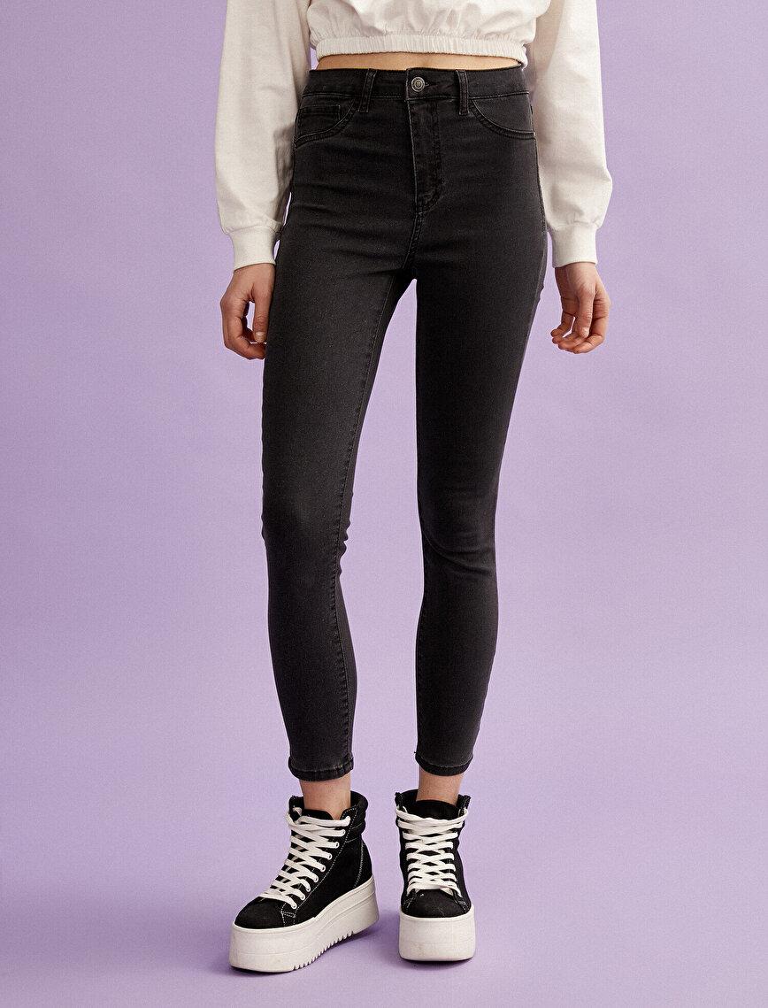 Carmen Jeans - Cotton High Waist