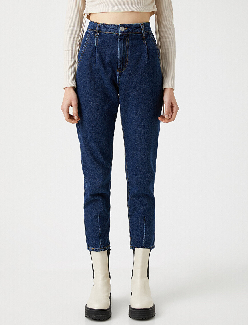 100% Cotton Mom Jeans