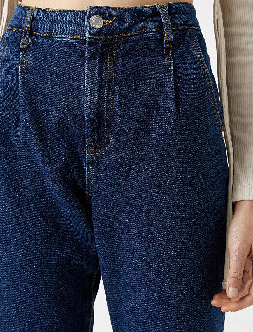 100% Cotton Mom Jeans