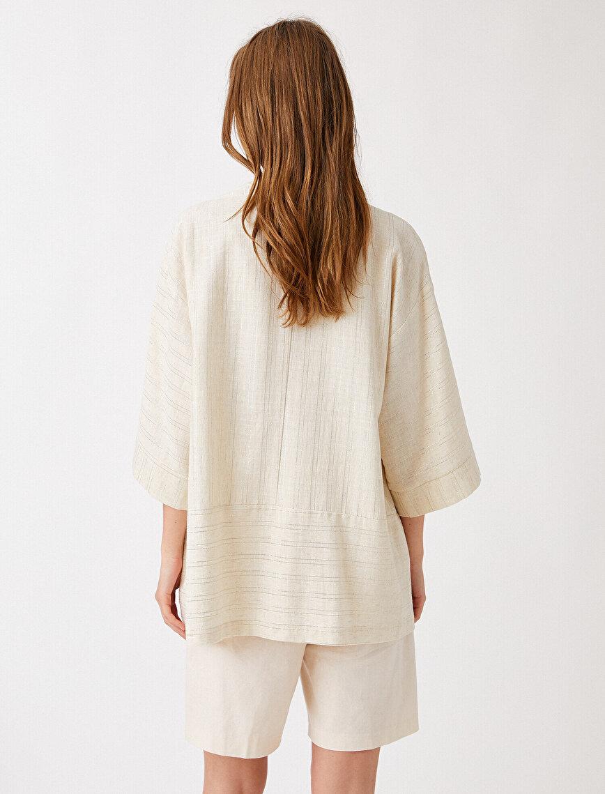 Pamuklu Kimono