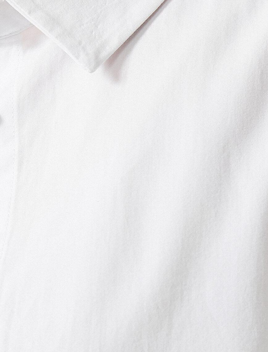 Poplin Gömlek Kısa Kollu