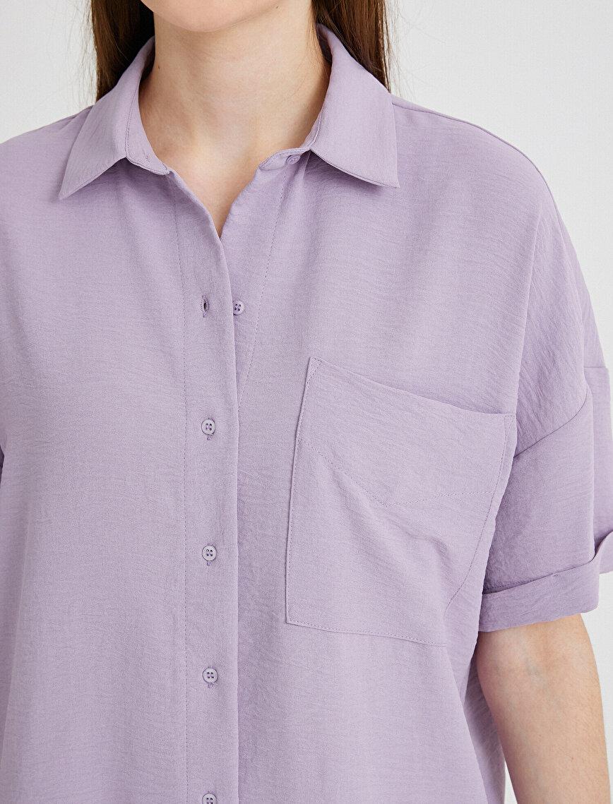 Cepli Gömlek Oversize