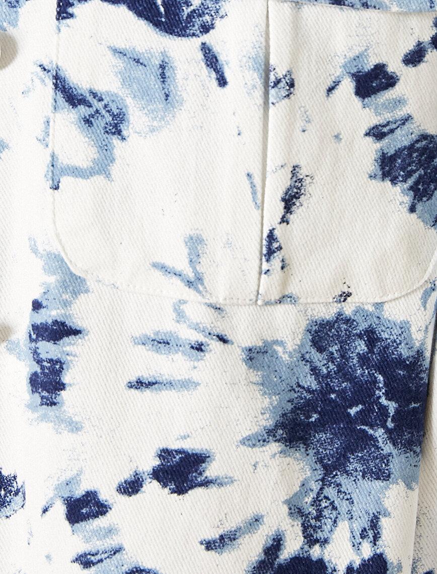 Tie-Dye Jacket Cotton
