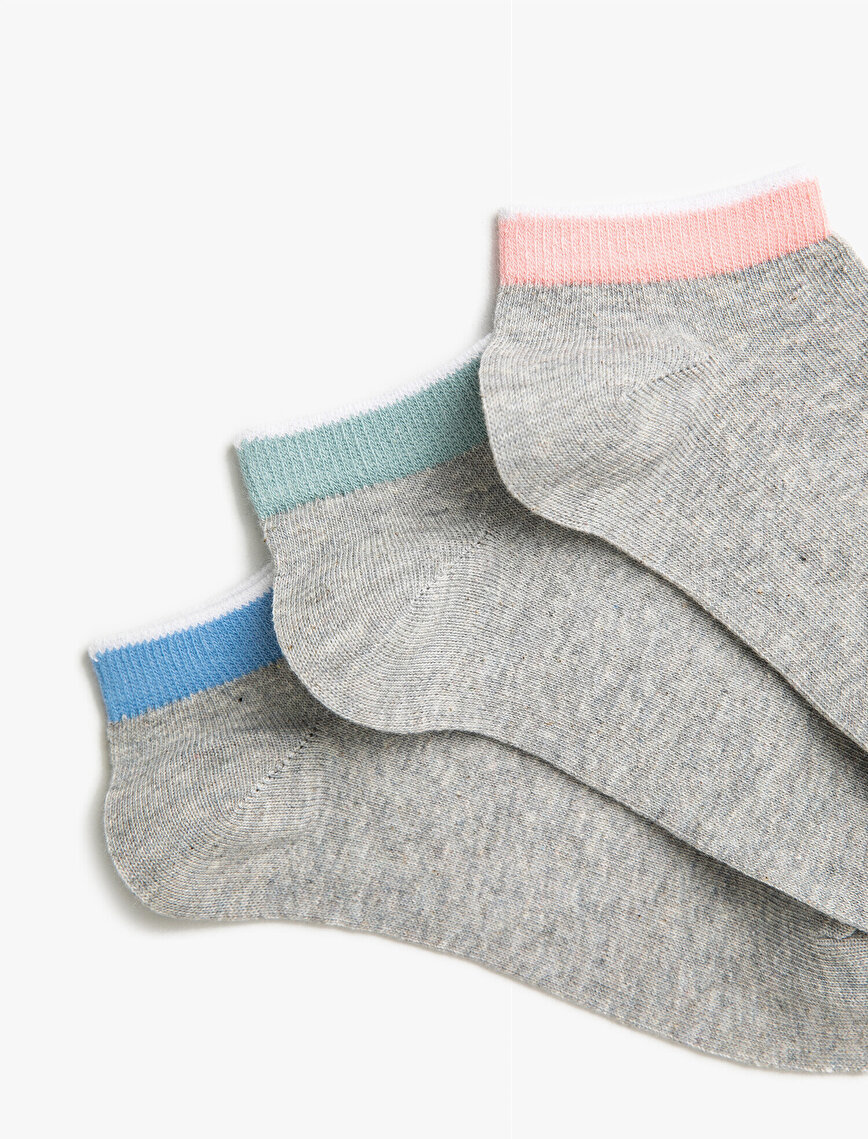 Woman Basic Socks Set Cotton