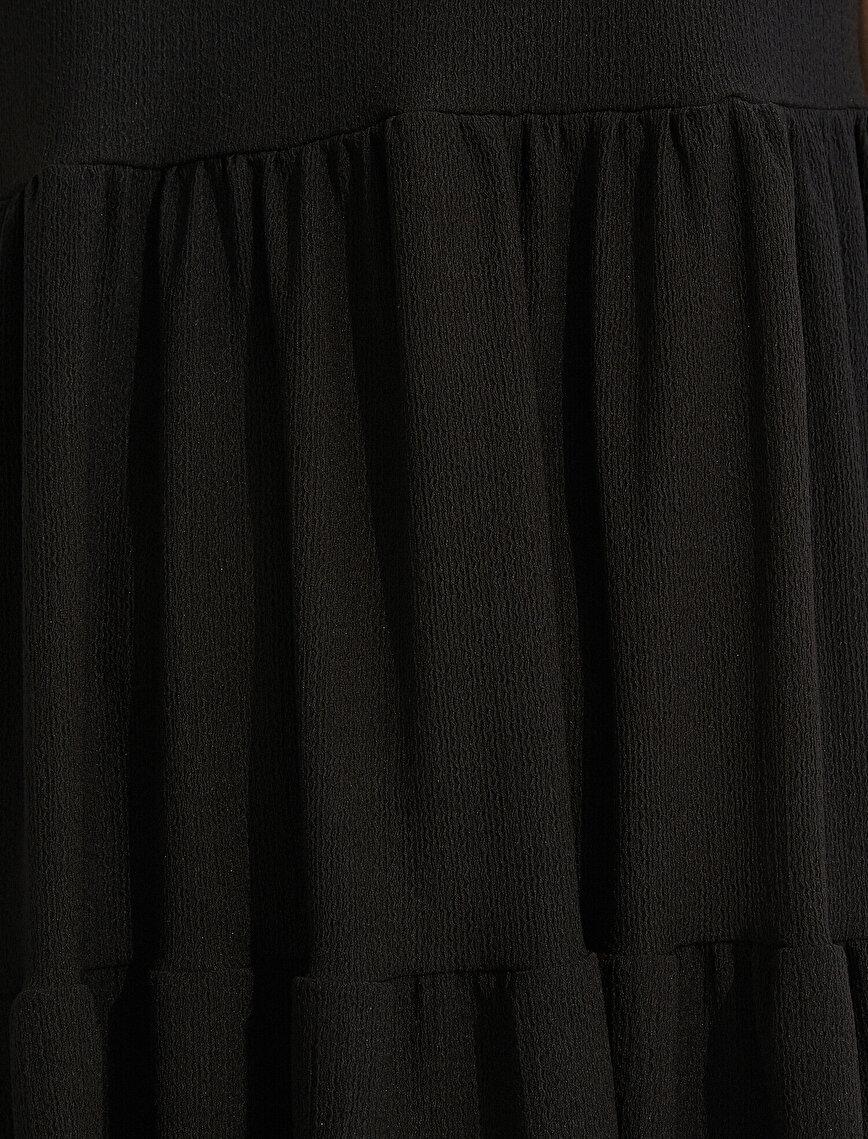 Crew Neck Dress Short Sleeve