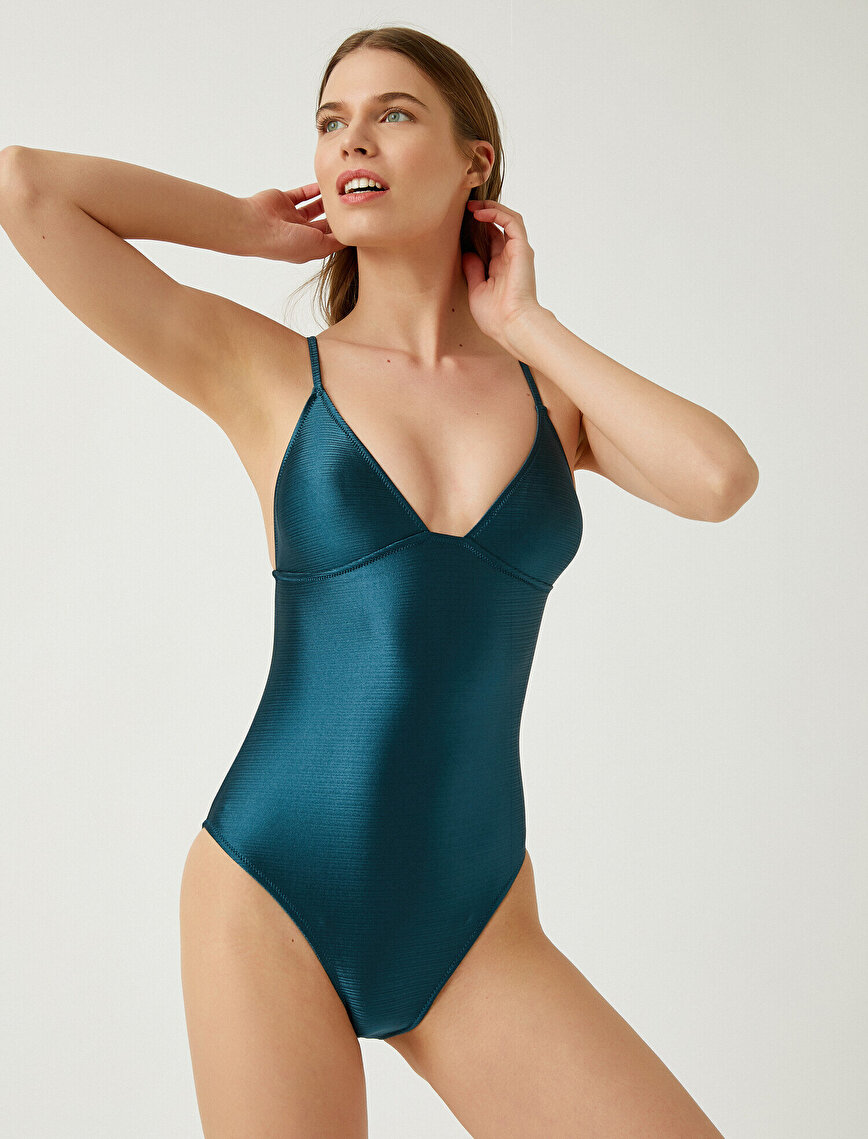 Thin Strap Swim Suit