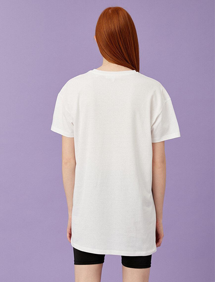 Pamuklu Tişört Oversize
